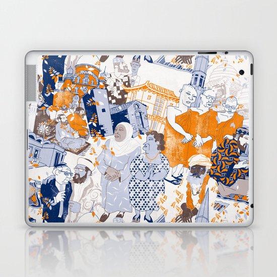THE SACRED CITY Laptop & iPad Skin