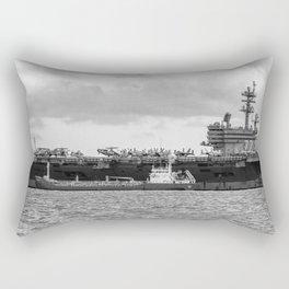 USS George H.W Bush. Rectangular Pillow
