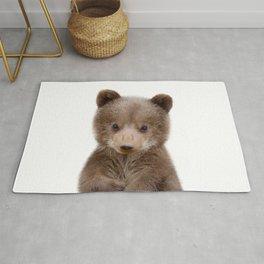 Baby Bear Cub Portrait Rug