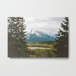 Vermilion Lakes Metal Print
