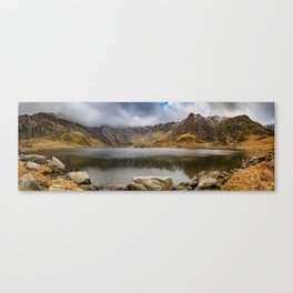 Lake Idwal Winter Canvas Print