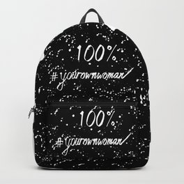 100% Your Own Woman - Dark Backpack