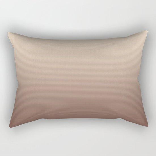 RoseGold Stripes Rectangular Pillow