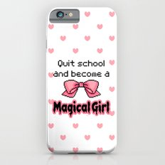 kawaii quit school become a magical girl melty text iPhone 6s Slim Case