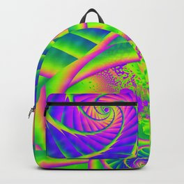 Dingle Berries Psychedelic Fractal Backpack