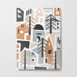 Holiday shapes Metal Print