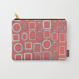 picture frames coral Carry-All Pouch