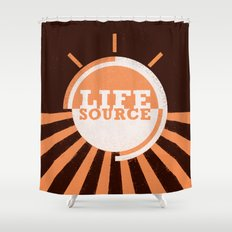 Life Source Shower Curtain
