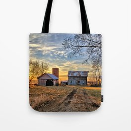 Kipling Barn Sunset 2 Tote Bag