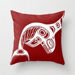 Spirit Keét Blood Throw Pillow
