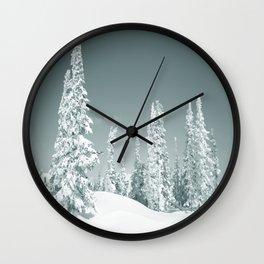 Winter day 2 Wall Clock