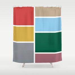 moda v.2 Shower Curtain
