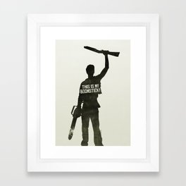 This is my Boomstick! Framed Art Print