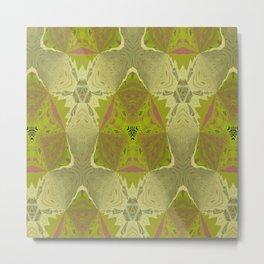 Basically Yellow Pattern 19 Metal Print
