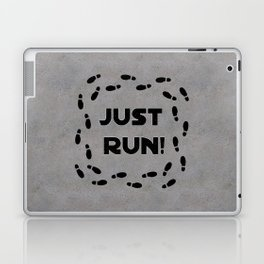 Just Run! Laptop & iPad Skin