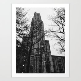 Cathedral of Learning Art Print