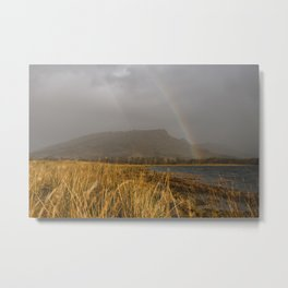 A Rainbow in Scotland Metal Print