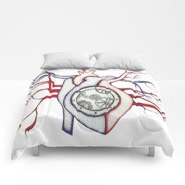 Steampunk Heart Comforters