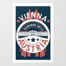 Vienna, Austria - Summer 2012 Art Print