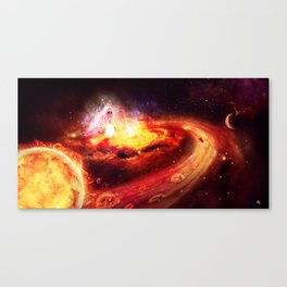 Liberate te ex inferis. Canvas Print