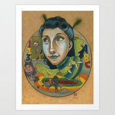 Kindermonsters Art Print