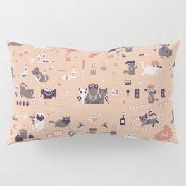 Bad cats Pillow Sham