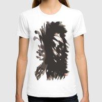 blur T-shirts featuring Skull Blur  by Myles Hunt
