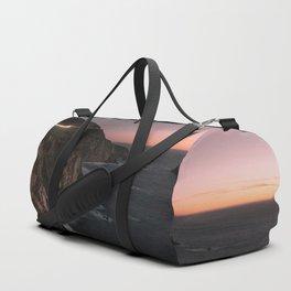 Big Sur Sunset Duffle Bag