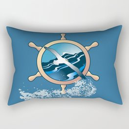 Albatross Rectangular Pillow
