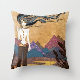 Hekate's Return Throw Pillow