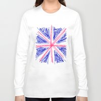 uk Long Sleeve T-shirts featuring UK by R.Bongiovani