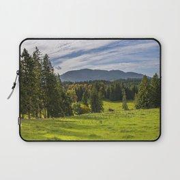 Alpine Landscape Laptop Sleeve