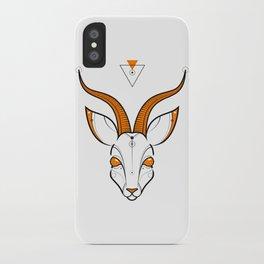 Gazelle iPhone Case