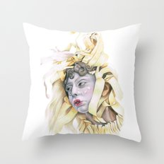 Wooden Hopes. Throw Pillow