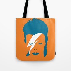 Ziggy Stardust - Orange Tote Bag