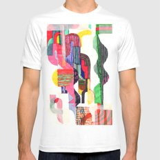 Collage I Mens Fitted Tee White MEDIUM
