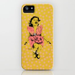 Jump Rope Rhyme iPhone Case