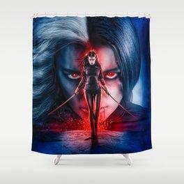 Capture Death Shower Curtain
