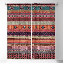 Oriental Traditional Rug Artwork Design C13 Blackout Curtain