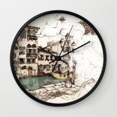 Vivaldi's morning in Venice Wall Clock