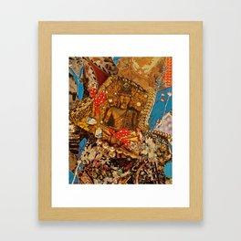 The Golden Buddha Framed Art Print
