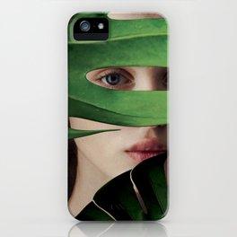 Secret portrait. iPhone Case
