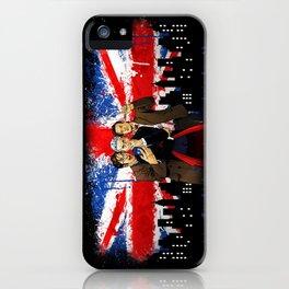 British Tardis Selfie iPhone Case
