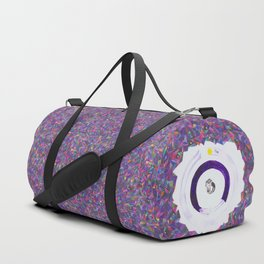 The fabric of the universe. Duffle Bag