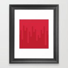 Blood Framed Art Print