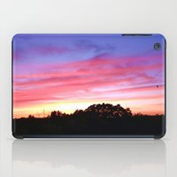 wisconsin iPad Cases featuring Wisconsin Sunset by Ron Trickett