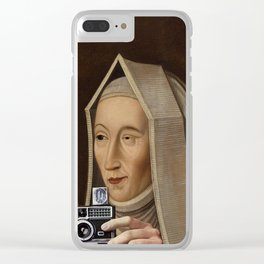 Smile please Clear iPhone Case