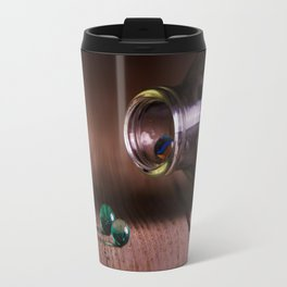 Marbles on the table Travel Mug
