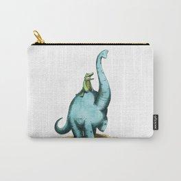 Brachiosaur Rides (Norm the Alligator) Carry-All Pouch