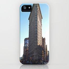 NYC - Flatiron Building iPhone Case